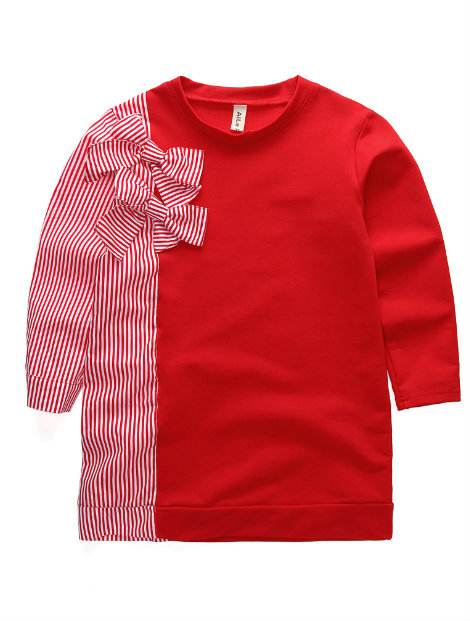 Wholesale Bright Red Kid's T-Shirt