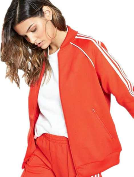 Wholesale Red and White Sports Jacket