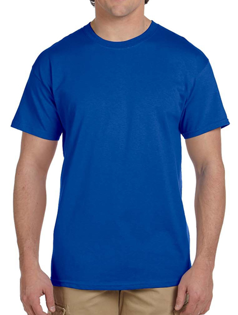 Wholeale Rich Royal Blue Tee Manufacturer