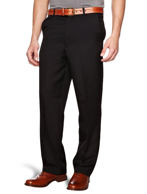 Wholesale Self Design Black Pant Manufacturer