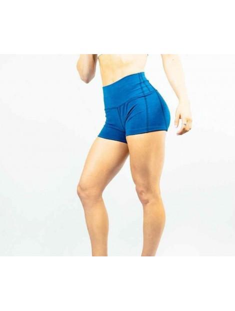 Wholesale Stylish Blue Women's Shorts Manufacturer