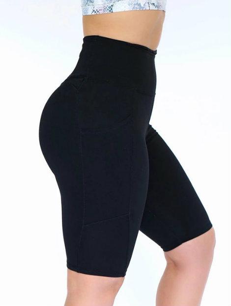 Wholesale Smart Black Sports Shorts