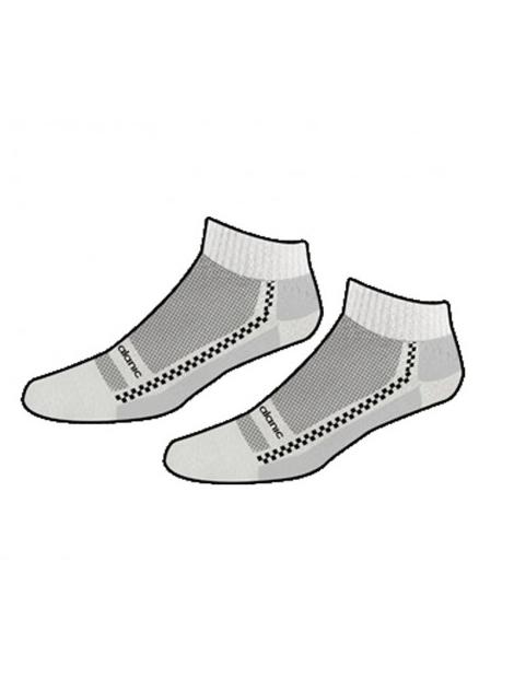 Wholesale Plain Grey and White Socks