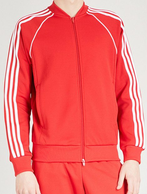 Wholesale Sporty Red and White Jacket
