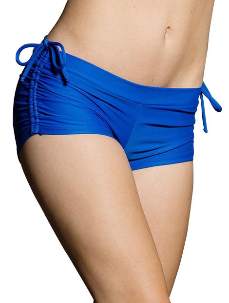 Wholesale Striking Blue Women's Shorts Manufacturer