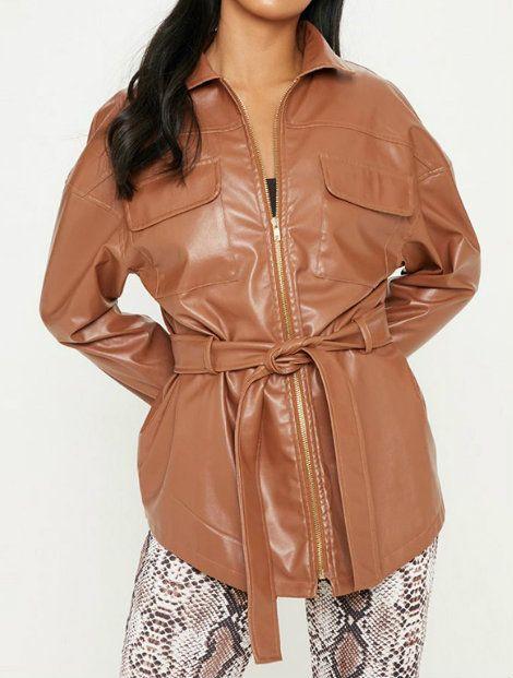 Wholesale Striking Brown Women's Jacket Manufacturer
