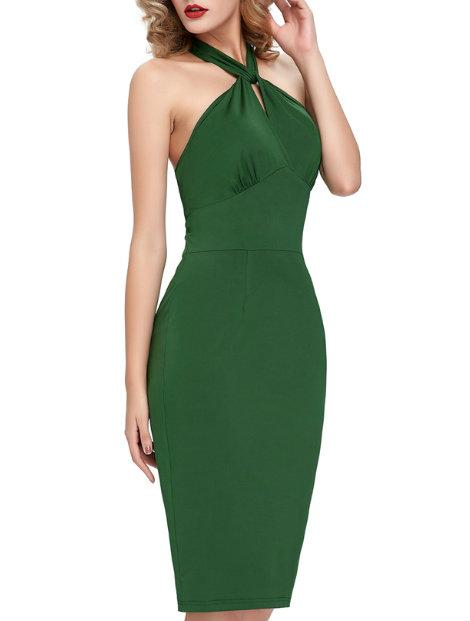 Wholesale Stunning Green Women's Dress Manufacturer