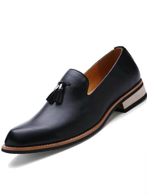 Wholesale Stylish Black Shoe Manufacturer