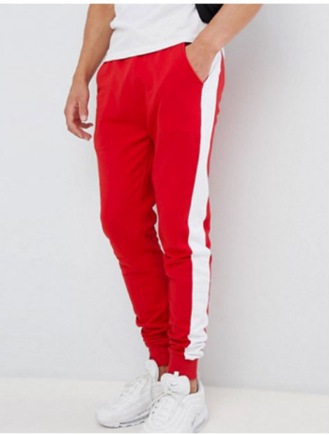 Wholesale Stylish Red and White Bottoms