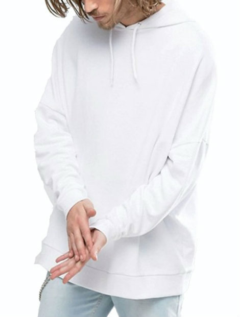 Wholesale Stylish White Pullover Manufacturer