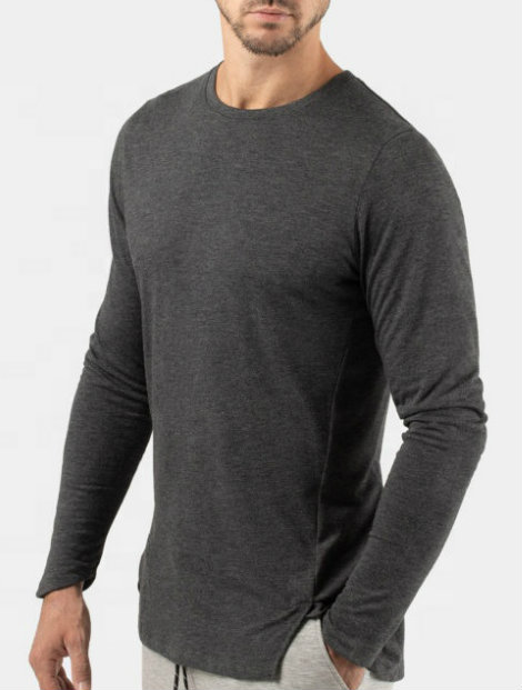 Wholesale Surprising Dark Gray T-Shirt Manufacturer