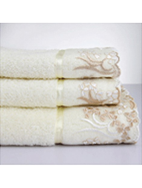 Wholesale Beautiful Off White Towel Manufacturer