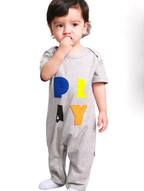Wholesale Beautiful Printed Baby Suit