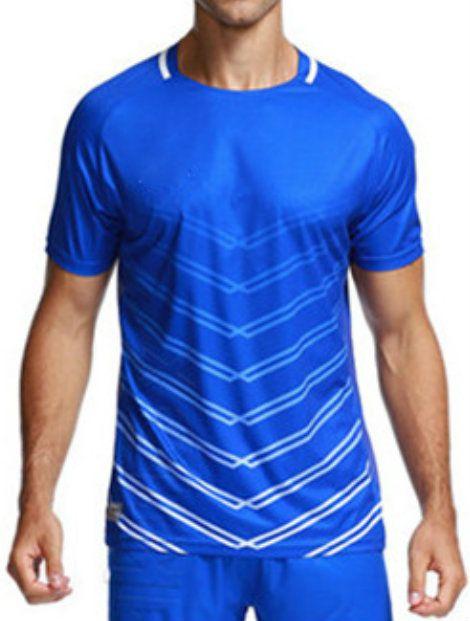 Wholesale Trendy Blue Jersey Manufacturer