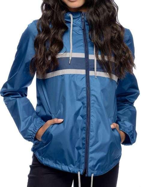 Wholesale Trendy Blue Women's Jacket Manufacturer