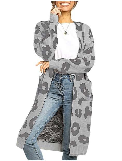 Wholesale Gray Women's Sweater Manufacturer