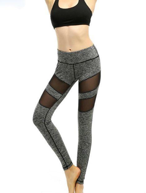 Wholesale Dark Grey And Black Women's Leggings Manufacturer