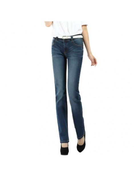 Wholesale Sophisticated Blue Women's Jeans Manufacturer