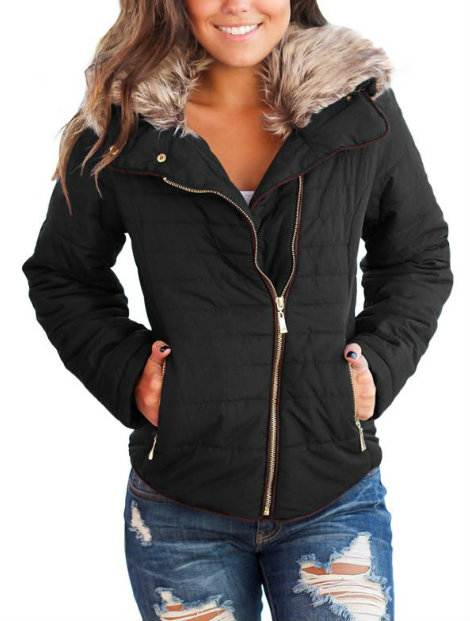 Wholesale Well Fitted Black Women's Jacket Manufacturer