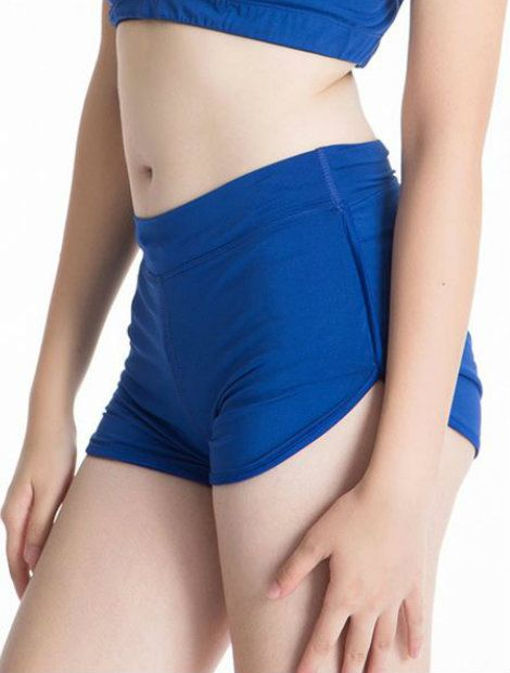 Wholesale The Bold Navy Blue Compression Shorts Manufacturer