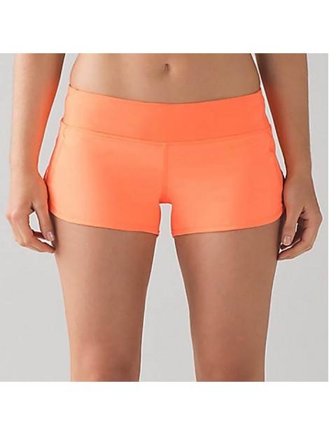 Wholesale Orange Women's Shorts Manufacturer