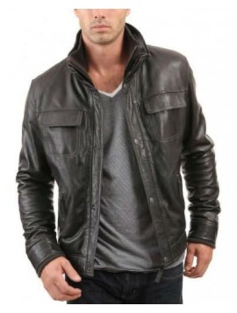 Wholesale Ravishing Black Leather Jacket